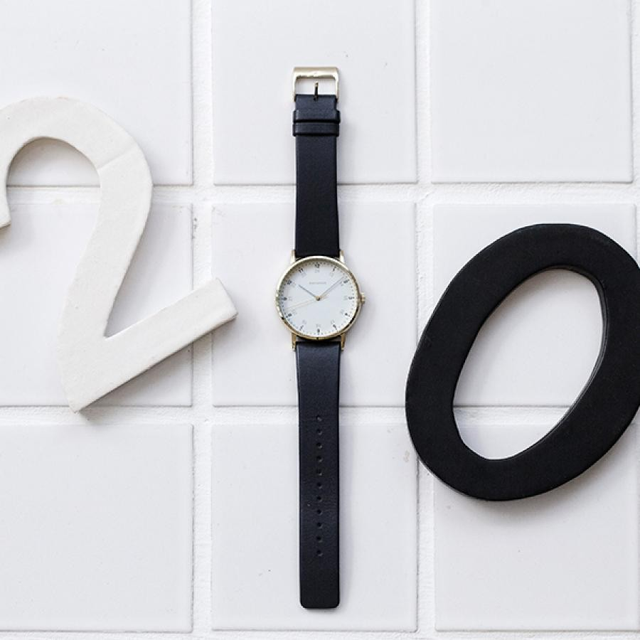 ISSEY MIYAKE  イッセイ ミヤケ f エフ 岩崎一郎氏 TiCTAC別注 腕時計 メンズ NYAJ706