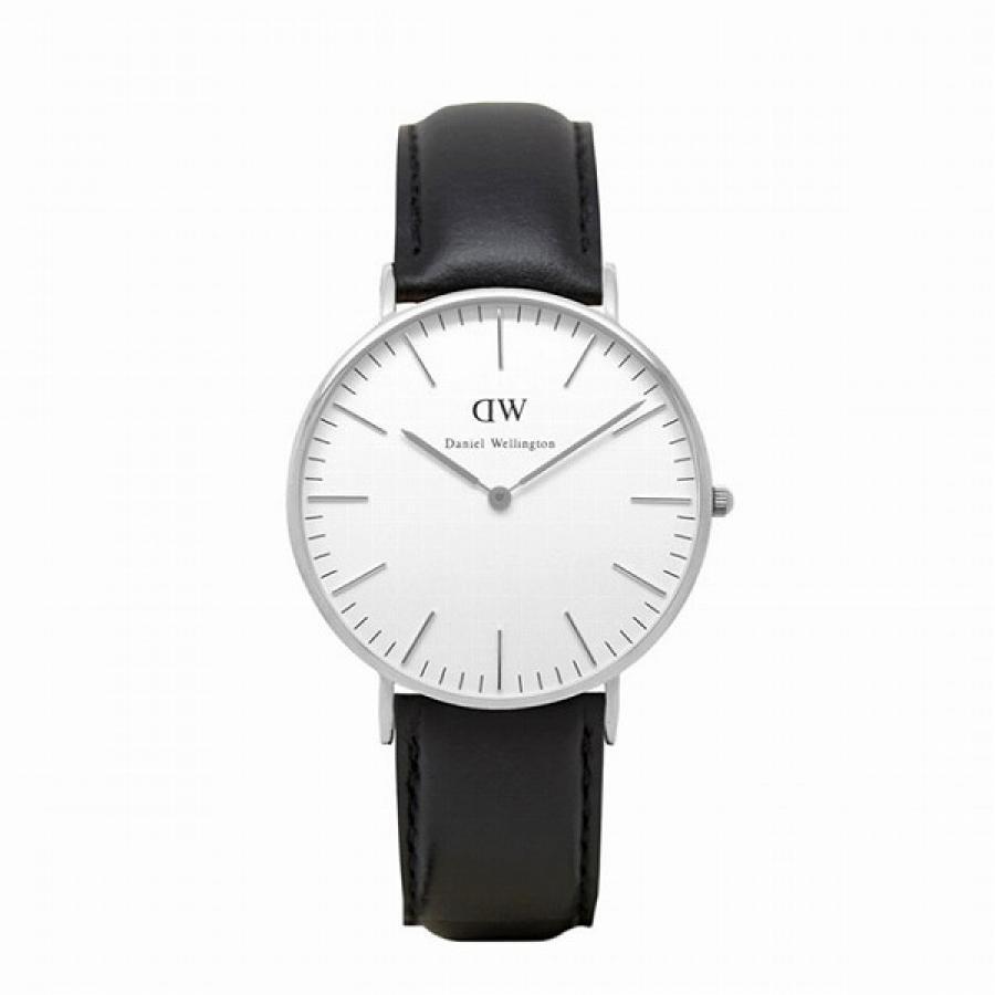 Daniel Wellington ダニエルウェリントン Classic Sheffield シルバー 36mm 【国内正規品】 腕時計 0608DW