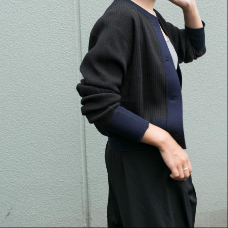 OSHIMA REI×DOORS 15th別注SwedishArmy CARDIGAN