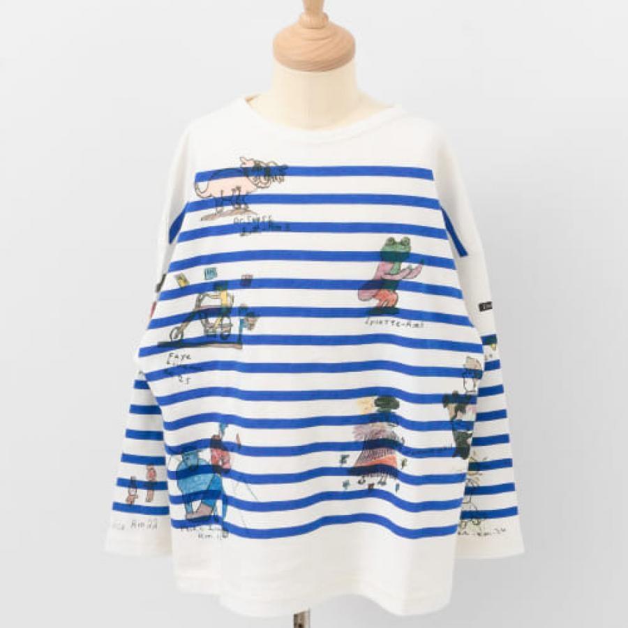 DENIM DUNGAREE テンジクボーダーPT GRAFFITI Tシャツ