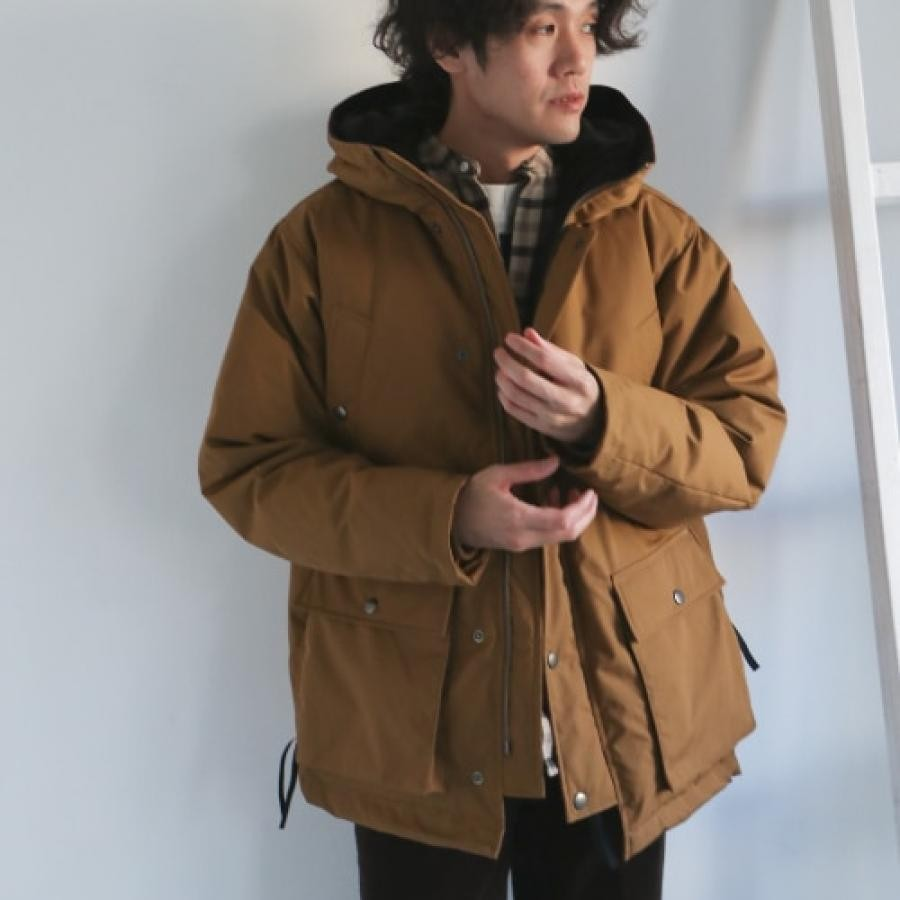 ダウンフードジャケット