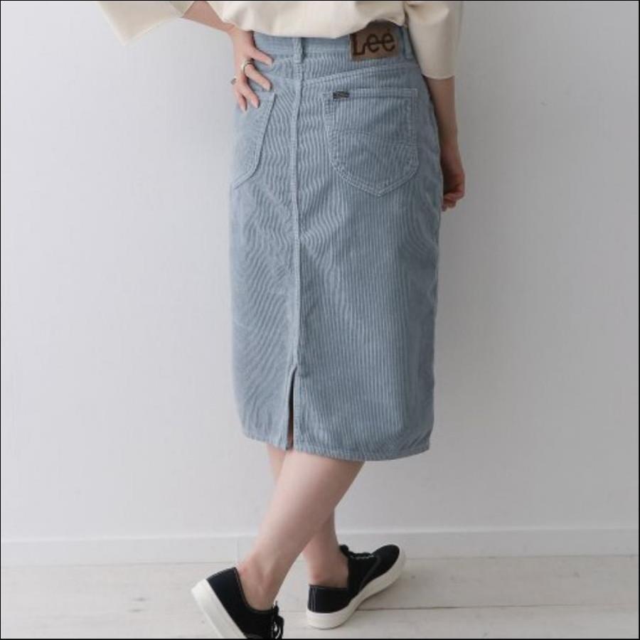 Lee×DOORS-natural- コーデュロイスカート