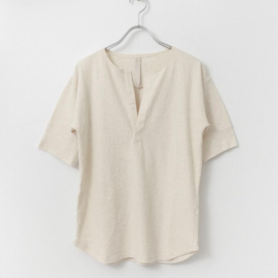 siiwa リブスリーブTシャツ