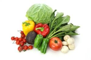 生理前にはとくにお野菜を食べてお肌をいたわりたい