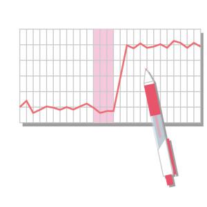基礎体温を測る