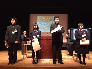 山形県代表は酒田東高校 池田朱莉さんに決定!:活字の学び