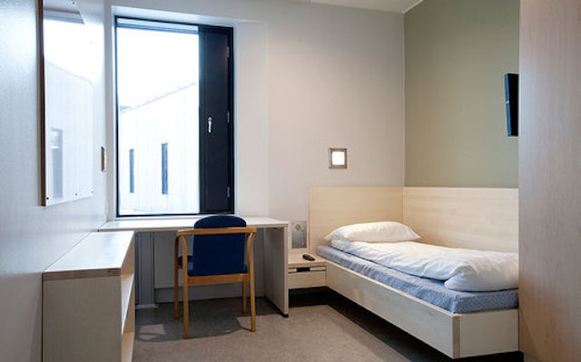 Halden prison room