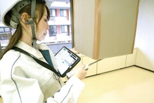 現場での仕上げ検査や配筋検査、指摘管理など様々な検査に使える