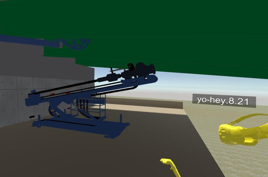 SYMMETRYで見た重機配置シミュレーション