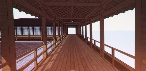日本の寺社のBIMモデル