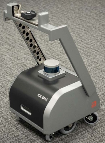照明設備の照度測定から調整作業までを行ってくれるロボット