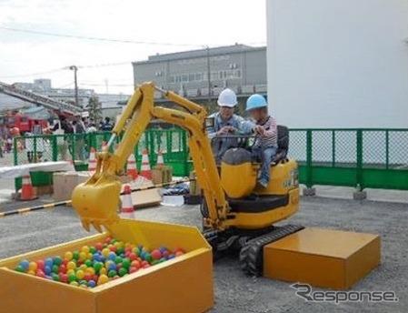 コマツ湘南工場フェア…建機デモやキャラクターショー 10月13日