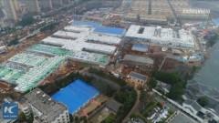 武漢の病院がわずか10日で完成した秘密とは?新華社通信が動画を公開