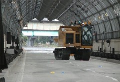 大成建設がGNSSの届かないトンネル内で建機の自動運転に成功! 日本初の快挙