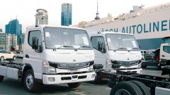 三菱ふそう  ニュージーランド市場に電気小型トラック「eCanter」を本格投入