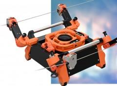 ロープウエー型ロボで3Dモデル化!凸版印刷とイクシスがインフラ点検システム開発
