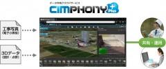 写真や点群を3D地図でクラウド共有!福井コンピュータの「CIMPHONY Plus」