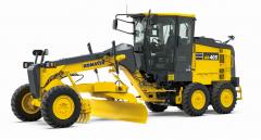 <オフロード法 2014 年基準適合> モーターグレーダー「GD405-7」を新発売