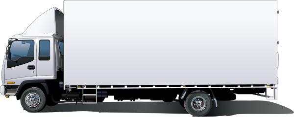 廃材を運ぶトラックのイメージ画像