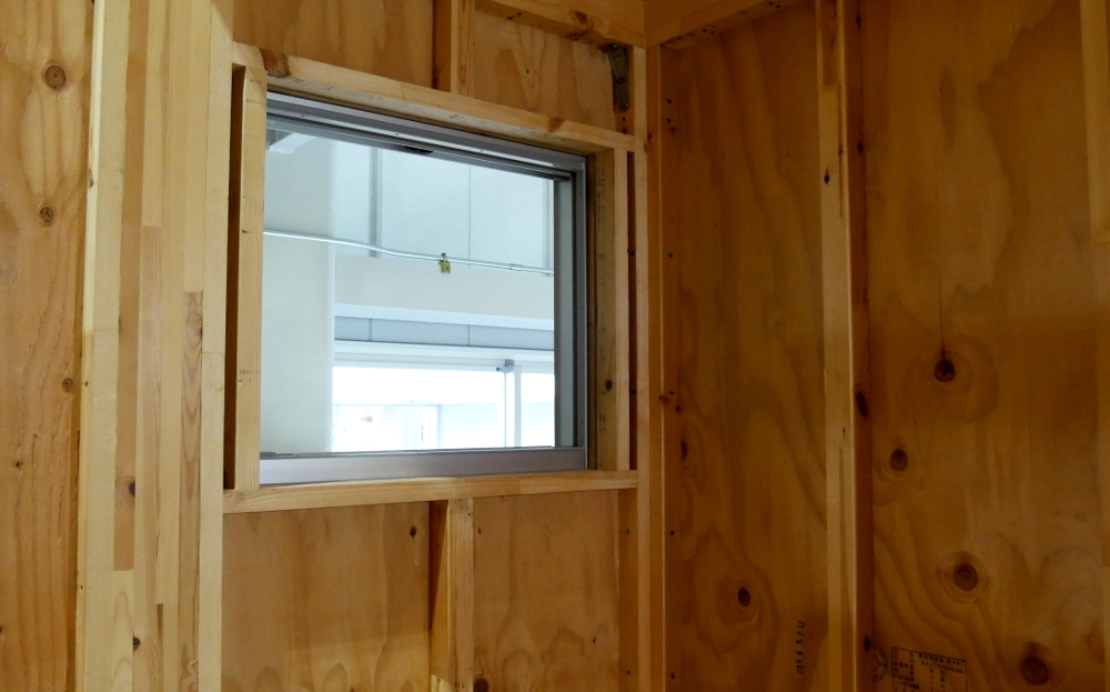 窓に合わせたプレカット1