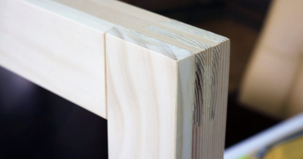 木枠の写真