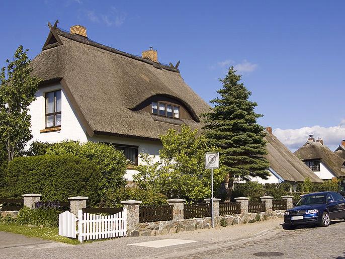 ドイツの茅葺き屋根
