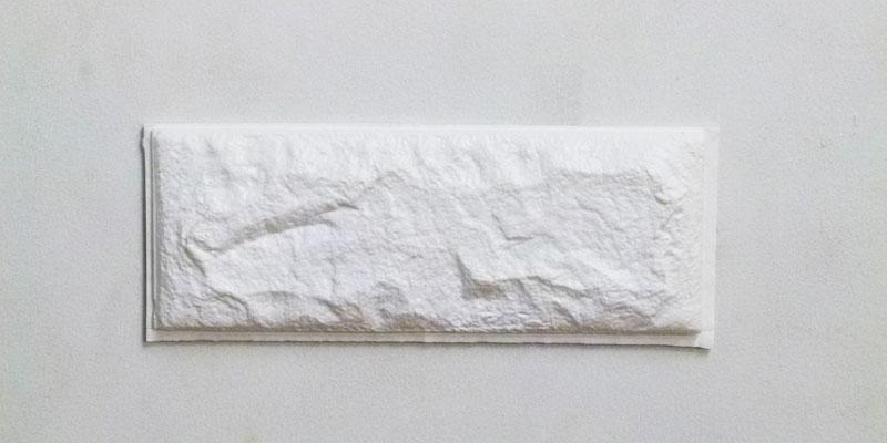 ドリームクッションレンガ 1枚を壁に貼り付けてみた