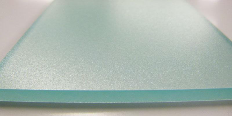 ラグラーチェ ポリカーボネートシートサンプルの表面