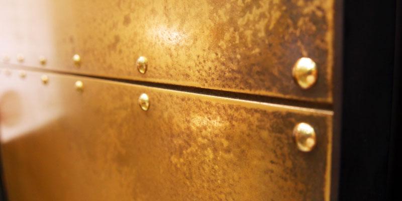 金属リフォーム 木製ドアリフォーム後2