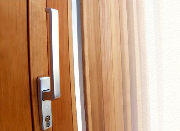 大和屋木製玄関引き戸 ハンドル