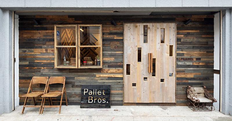 パレット木材