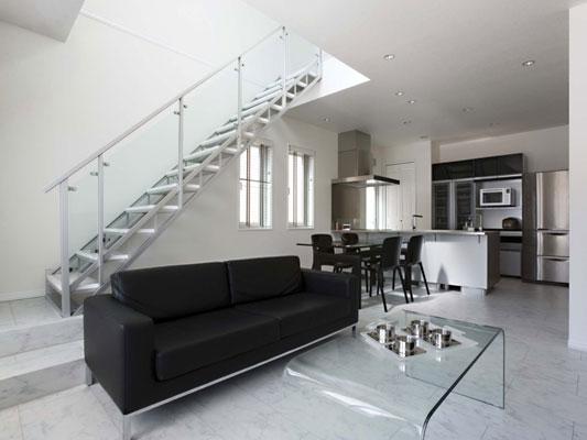 リビング階段の施工例6