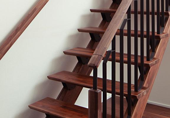 ウッドテックの階段