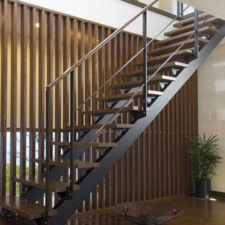 カツデンアーキテックの階段
