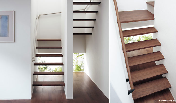 パナソニックの階段