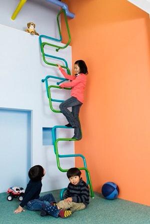 子供用ロフト階段