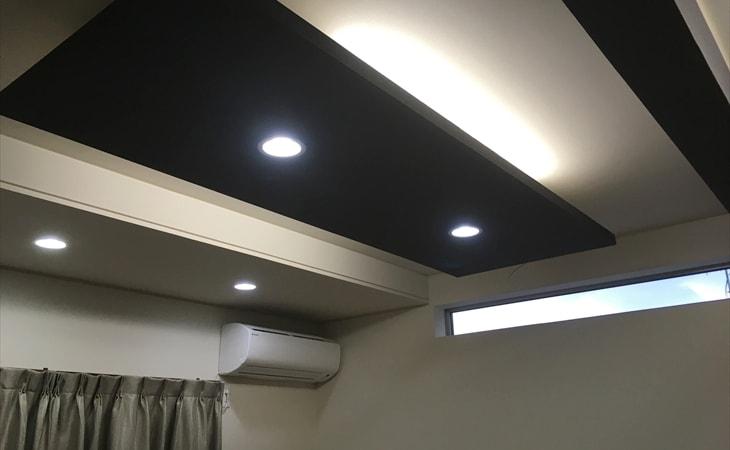 寝室の天井照明