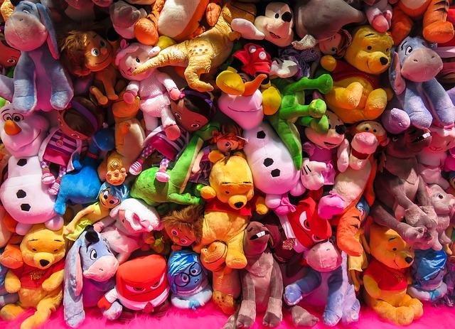 おもちゃの種類
