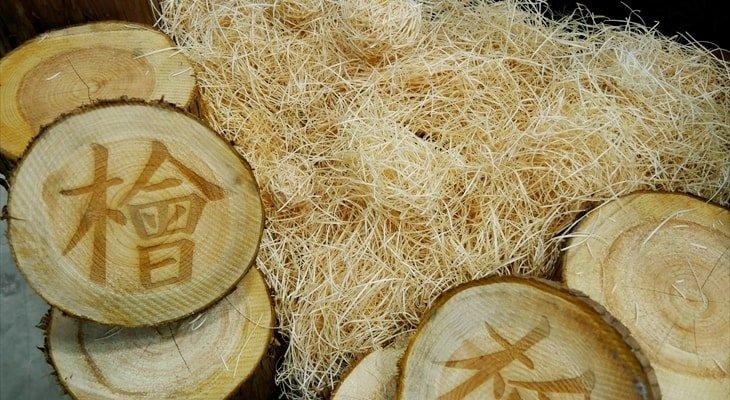 レノウッドの正体はヒノキの間伐材