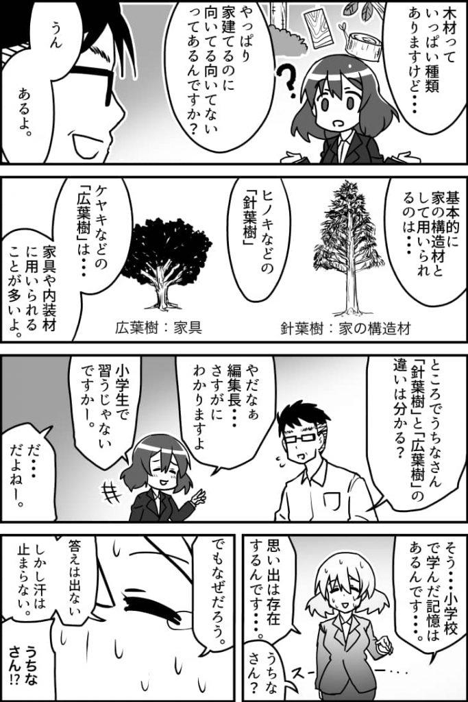 建材ダイジェストマンガ版第6話その1