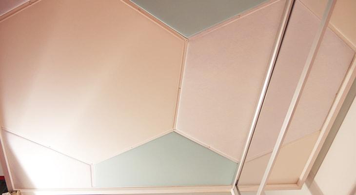 「かるてん」6角形の天井