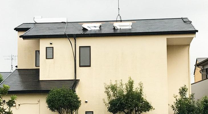 自宅の天窓を交換した事例