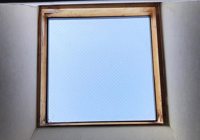 交換前の天窓その2
