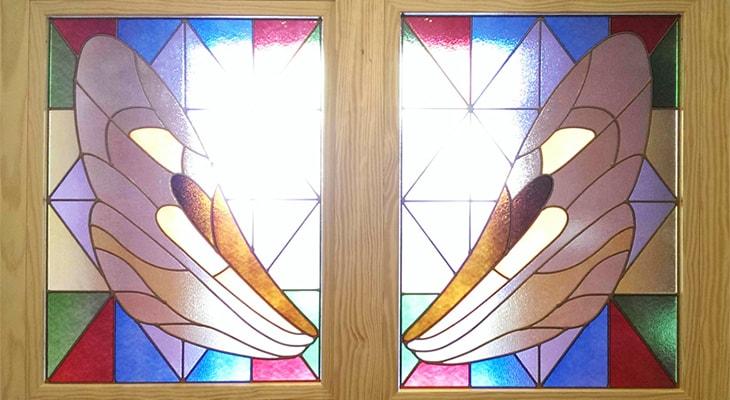 ニューステンドの窓