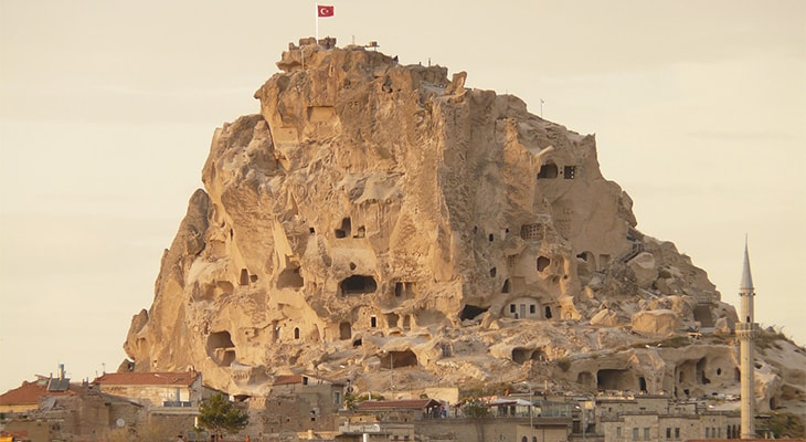 トルコのカッパドキア