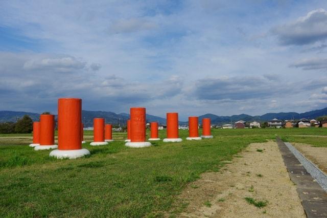 藤原京の礎石