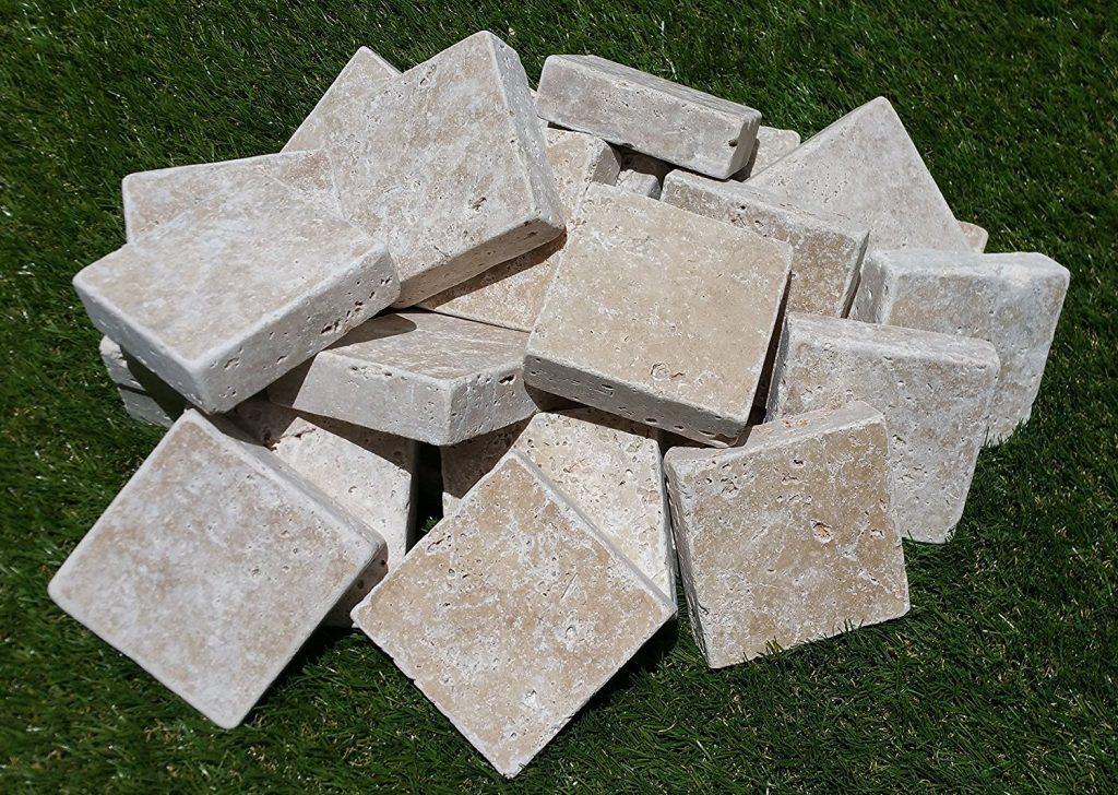 トラバーチン床材タンブル
