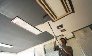 天井のペンキ塗りを素人がやってみた