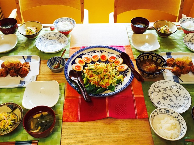 日本の家庭料理 Japanese home-cooked meal