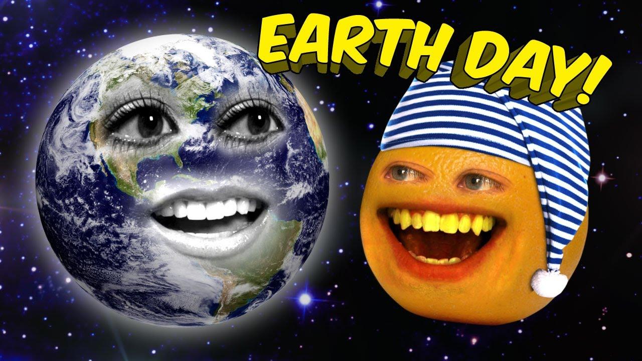 「アノーイングオレンジ、地球を救え」- Annoying Orange - Earth Day